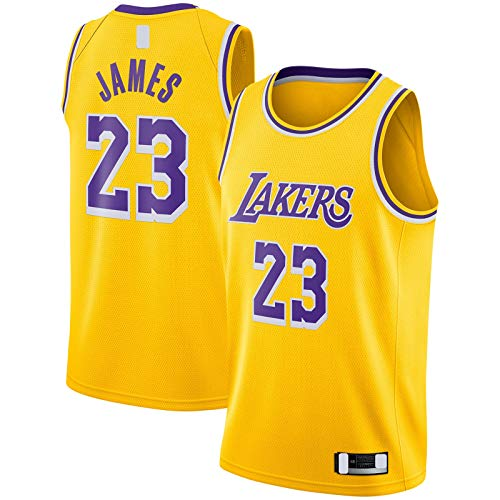 YARUODA Sudadera con diseño de Star Jersey Gold Player # 23 Swingman # Name?