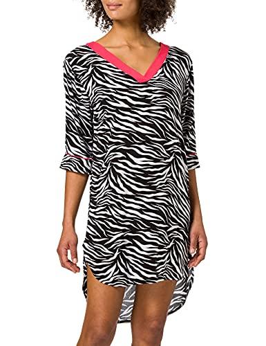 ESPRIT Bodywear Damen 041EF1A363 Überwurf für Schwimmbekleidung, 001/BLACK, M