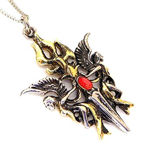 Halter von the Sacred Flamme Minerva Vesta Anhänger Halskette