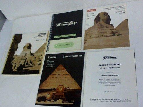 Zeitautomatik. Katalog 1 - 12 - 1166/ Thermobimetalle. 2 Kataloge