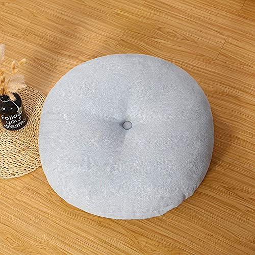 NYCUABT Espesar tatami piso asiento cojín ropa renovación al aire libre al aire libre almohada, almohada grande para la meditación para la fiesta de la fiesta de la fiesta de yoga rosa diámetro rojo 4