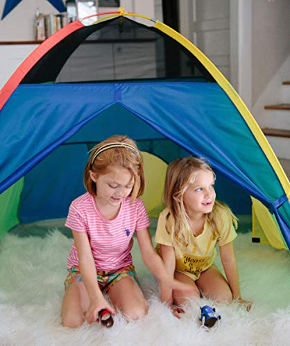 "Pacific Play Tents 40205 Kids Super Duper 4-Kid Dome Tent Playhouse, 58"" x 58"" x 46"" Nevada"