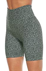 ➤HIGH RISE: Running shorts are designed with high-rise, tummy control wide waistband contours your curves and streamlines your shape. ➤MOISTURE WICKING: Bike shorts are made of quick-drying fabric which is moisture wicking and keeps your skin dry. ➤4...