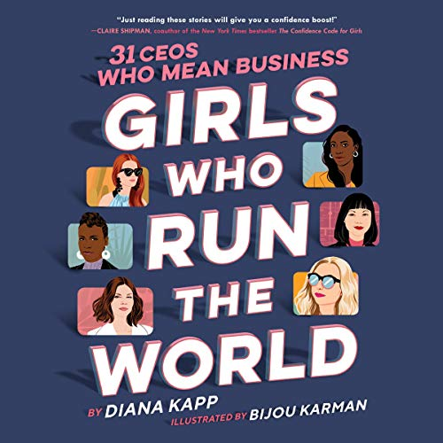 Girls Who Run the World audiobook cover art