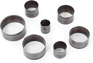 Poinçon rond-7 pièces outil de poinçonnage en cuir perforateur circulaire poinçon poinçon pour le traitement du cuir