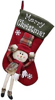 tJexePYK, Medias De Navidad Calcetines Regalo Y De La Invitación Bolsas Vajilla Bolsa De Ornamento De Navidad De,Favores Decoración