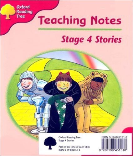 Oxford Reading Tree: Stage 4: Storybooks: Pack (6 Books, 1 of Each Title)の詳細を見る