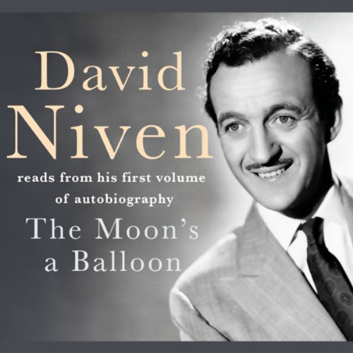 The Moon's a Balloon audiobook cover art