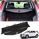 MarretooCargoCoverFactory Stylefor Chevrolet Equinox Accessories 2010-2016 2017 Black Retractable Trunk Security Shield Shade