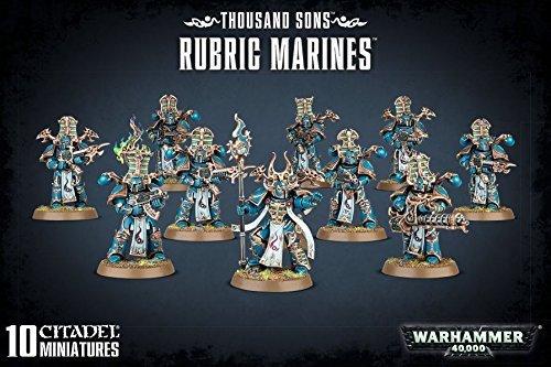 Warhammer 40 K. - Thousand Sons Rubric Marines