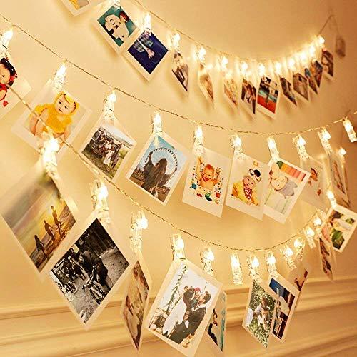 La guirlande lumineuse avec photos de Zorara