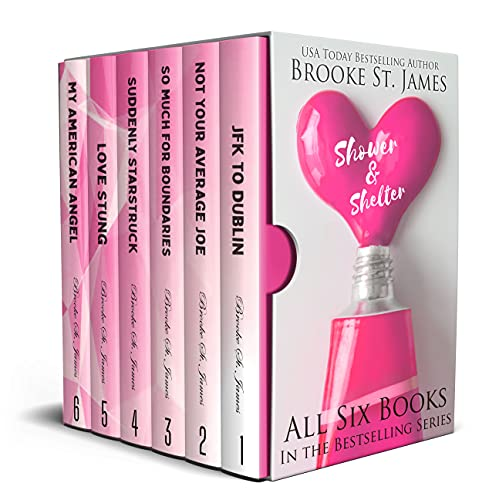 Shower & Shelter Artist Collective Complete Box Set: All Six Books in the Shower & Shelter Romance Series