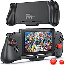 OIVO Controller Compatible with Nintendo Switch Handheld Mode, with Buit-in Upgraded PD Chip, Comfortable & Ergonomic Controller with 6 Gyro Axis, Double Motor Vibration