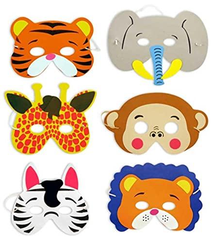 Jungle Animals Foam Mask - Single by Partyrama