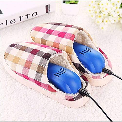 HUANXA Ajustable Sèche-Chaussures, Portable Sèche-Bottes électrique Sèche-Pieds pour Hiver Déodorant Résiste à L'humidité-Bleu-Ajustable