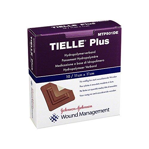 Tielle Plus Hydropolymer-Verband 11x11 cm Steril