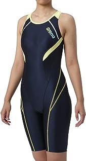 arena(アリーナ) トレーニング 競泳用 水着 レディース サークルバックスパッツ ひっかけフィットパッド 着やストラップ フィットネススイム LAR-9200W