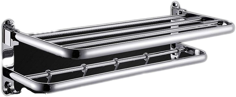 GFF Bathroom Racks Bathroom Shelf 304 Stainless Steel Load Bearing Strong and Durable