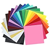 Oracal 651 Glossy Vinyl - 24 Pack of Top Colors - 12' x 12' Sheets