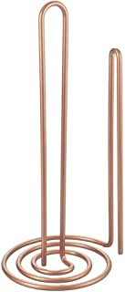 Metaltex 3636400000 Porte essuie-Tout Vertical-MYROLL, Métal, cuivré, 15 x 15 x 32 cm