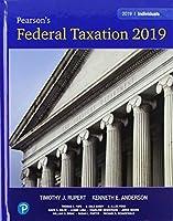 Pearson's Federal Taxation 2019 Individuals