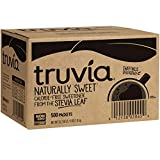 Truvia Natural Stevia Sweetener Packets, 35.25 Ounce, 500 Count (Pack of 1)