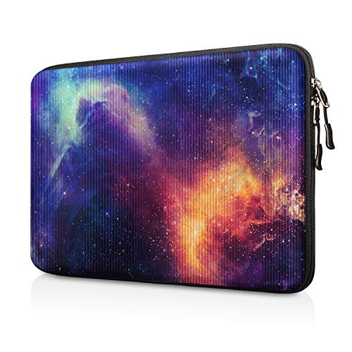 FINTIE 13-inch Hard Shell Laptop Sleeve Case for 13.3' MacBook Air A2337 M1 A2179 A1932, MacBook Pro 13 A2338 A2251 A2289 A2159 A1989 A1706 A1708, Shockproof Carrying Cover Protective Bag, Galaxy