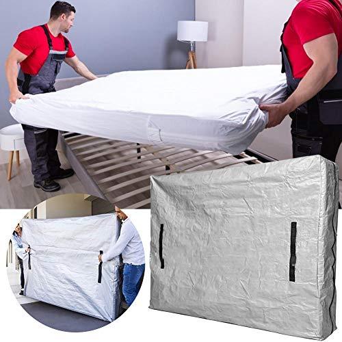 Funda de colchón Wangza para almacenamiento y mudanzas con cremallera, bolsa de almacenamiento impermeable