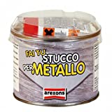 Stucco x metalli sigilla ripara acciaio inox ghisa alluminio zinco Arexons 200gr