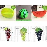 BLUGUL 6pcs Frutta Artificiale Realistica, Frutta Finta, Decorativa Frutta, Carambola, Ang...