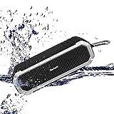 Simpeak 10W Bluetooth Lautsprecher mit Mikrofon, Haken und LED Taschenlampe