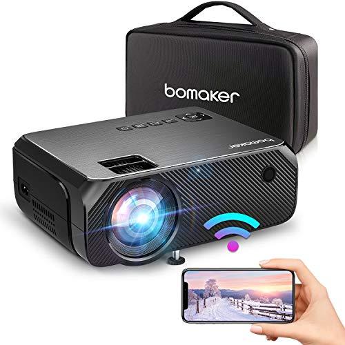Bomaker WiFi Vidéoprojecteur, Wireless...