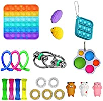 iSayhong Sensory Fidget Toys Set, verlicht stress en angst Fidget speelgoed voor kinderen volwassenen, kubus Top Toy...