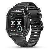 HopoFit Smartwatch, Reloj Inteligente Hombre Mujer, Reloj Pantalla Táctil Impermeable con Deportivo 20 Modos Monitor de Sueño Pulsómetro Podómetro Pulsera Actividad Inteligente para Android iOS