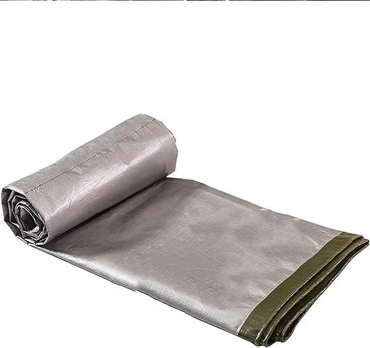 YHUJH Tissu imperméable, épaissie Preuve de Pluie imperméable en Plastique Parasol Prougeection Solaire bache de Prougeection bache bache de Pluie étroitement épaissie (Taille   8  12m)