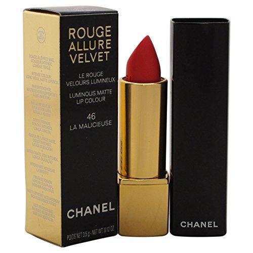 Chanel Rouge Allure Velvet Luminous Matte Lip Colour, 46 La Malicieuse, 0.1 Ounce