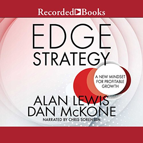 Edge Strategy audiobook cover art