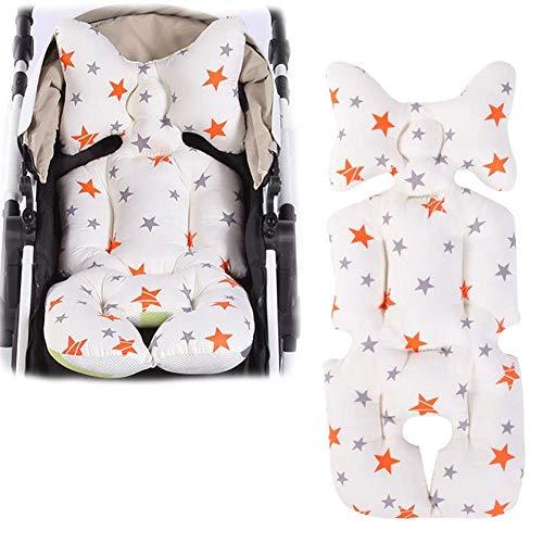 Kinderwagen Sitzauflage Universal Winter Dick Baby Sitzkissen Sitzverkkleinerer Sportwagen Buggy Babyschale Autositze Atmungsaktive Cushion Padding Liner