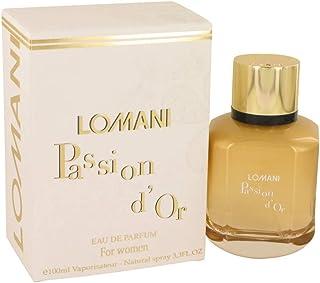 Lomani Passion D'Or Eau de Parfum Spray by Lomani 100ml Eau de Parfum Spray
