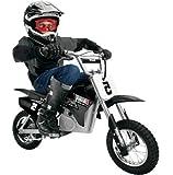 Kidz Razor Motocross Dirt Bike - 24-Volt Rocket Electric, Black