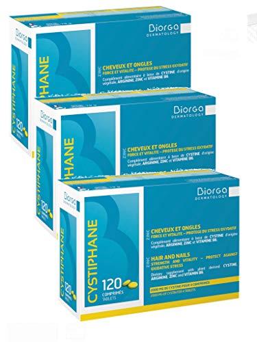 Cystiphane Bailleul- Cystine B6 -Zinc - Arginine - Cheveux et ongles - Santé - Force et...