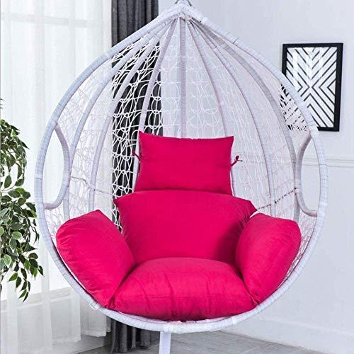 SFSGH Cuscino per Sedia Cuscino per Sedia Rotondo in Vimini in Rattan Cuscino per Sedia Altalena Nido d'uovo Cuscino per Sedile Solido Cuscino per Sedile da Patio Cuscino Trapuntato da p