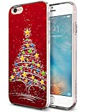 Protective iPhone 6 and 6s Case 4.7 inch Red Christmas Tree