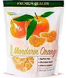 Paradise Green - Dried Mandarin Oranges 24oz - Sweet Dehydrated Mandarin Orange Sun Dried In Nature, Vegan (Kosher Certified), Dairy Free, 1.5 LBS