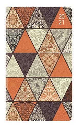 Ladytimer Slim Oriental 2021 - Taschen-Kalender 9x15,6 cm - orientalisch - Weekly - 128 Seiten - Notiz-Buch - Alpha Edition