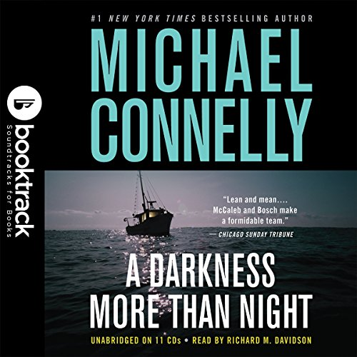 A Darkness More Than Night audiobook cover art