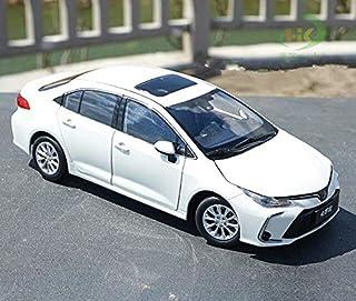 مركبات الألعاب والنماذج - نموذج سيارة محاكاة عالية 1:18 لـ كورولا 2019 من خليط معدني، قطع معدنية، سيارات ألعاب، مجموعة زخا...