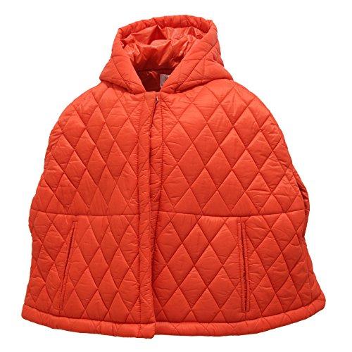 MAURO GRIFONI 1258V mantella Piumino Girl Bimba Orange Jacket [6 Years]
