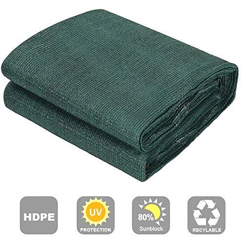 LYAID Cubre Sunblock Shade Cloth Net Mesh Tarp, Windbreak Net Fence Sunshade Protector de privacidad Resistente a la Intemperie Balcón con Arandelas,3M*5M