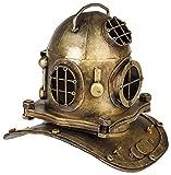 aubaho Taucherhelm Marine 32cm Tiefsee Taucherglocke Dekoration Helm Antik-Stil